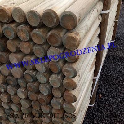 Słupki drewniane toczone małopolska