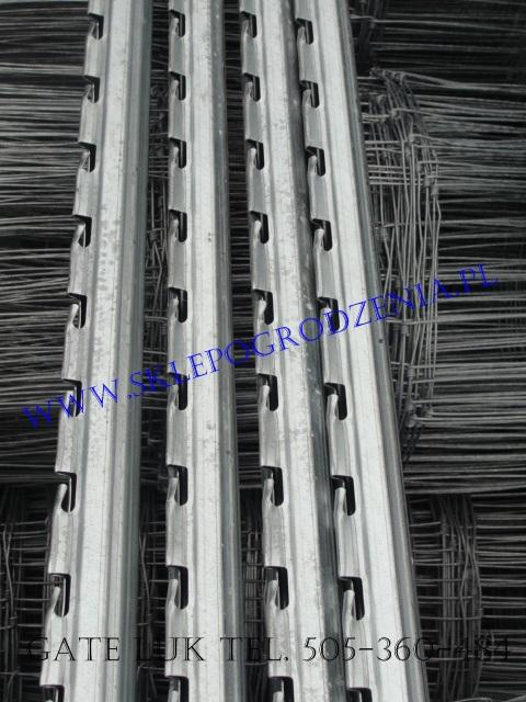 W Mega Sklep ogrodzenia Słupek uniwersalny, Siatki leśne cienkie SL28