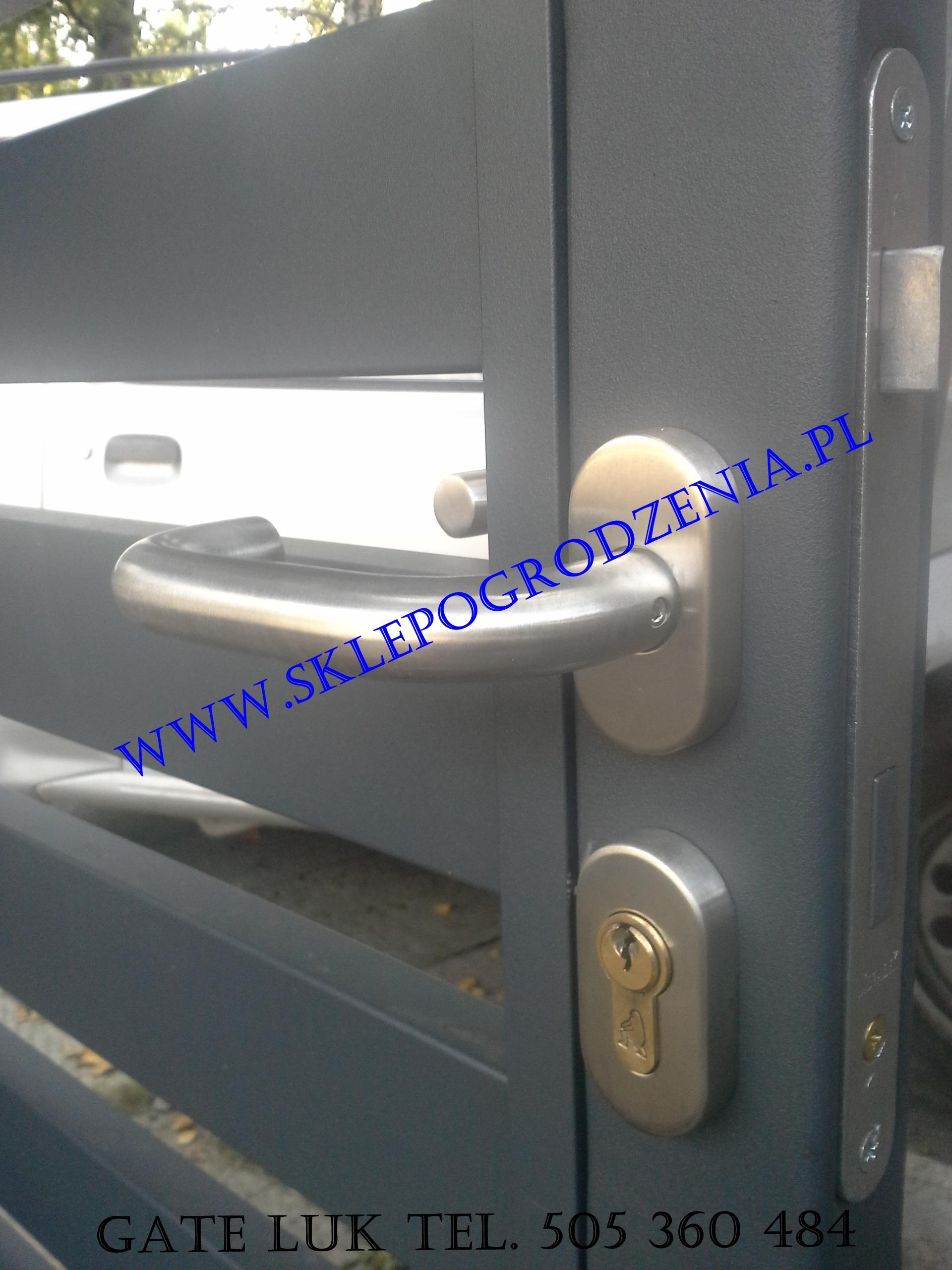 Bardzo dobry Sklep ogrodzenia Klamka ze stali nierdzewnej, Akcesoria do bram i RH27