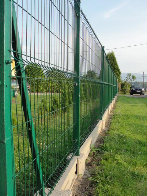 Bardzo dobry Sklep ogrodzenia Montaż ogrodzenia systemowego bez podmurówki NY59